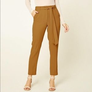 New! Cute Camel Trousers